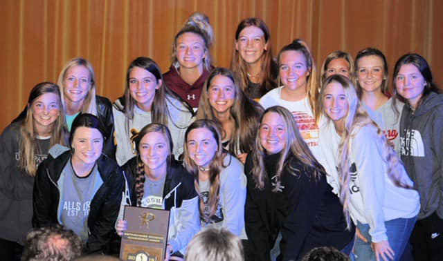 2019 Class 2A Softball Distinguished Academic Award